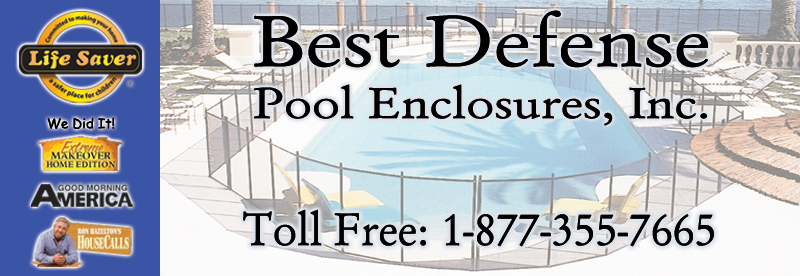 Poolfence Removable Mesh Pool Safety Fence Pennsylvania Pa New Jersey Nj